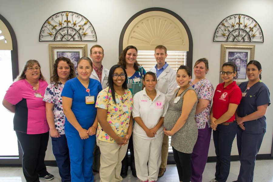Bellmead Community Clinic staff