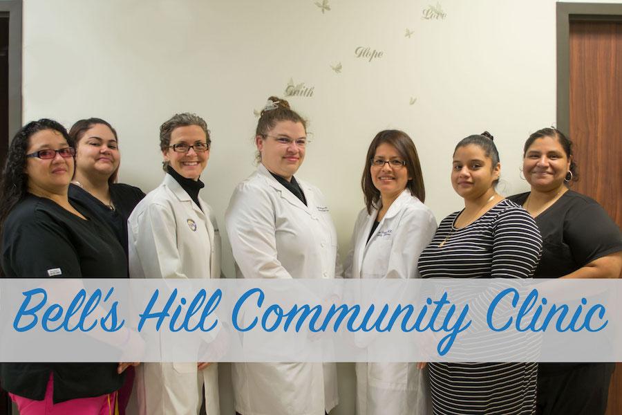 Bell's Hill Community Clinic Staff