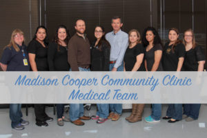 Madison Cooper Community Clinic Medical staff