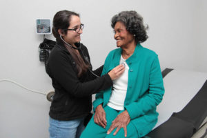 Madison Cooper Community Clinic doctor and patient