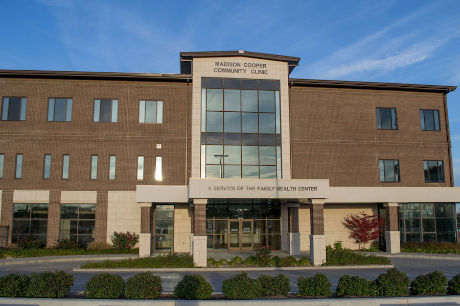 Madison Cooper Community Clinic building