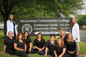 Community Clinic at MCC staff
