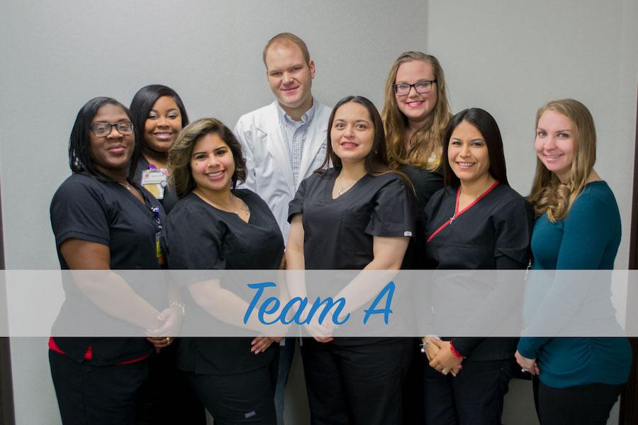 Family Health Center team a staff