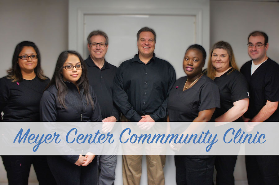 Meyer Center Community Clinic staff
