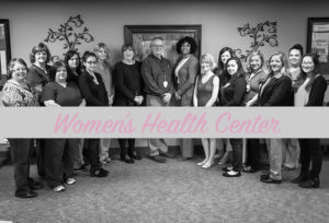 Women's Health Center staff