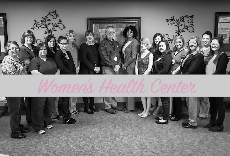 Women's Health Center staff