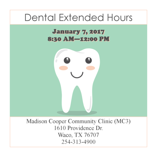 Dental Extended Hours Clinic