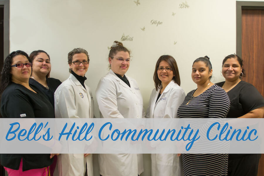 Bell's Hill Community Clinic's Medical Professionals