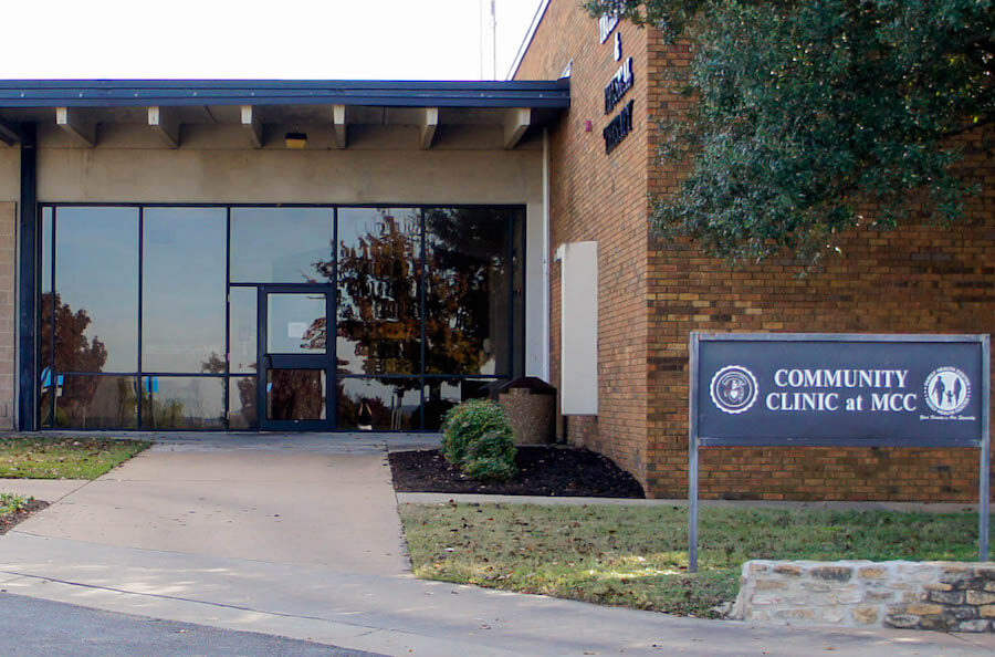 Community Clinic at MCC Office Building