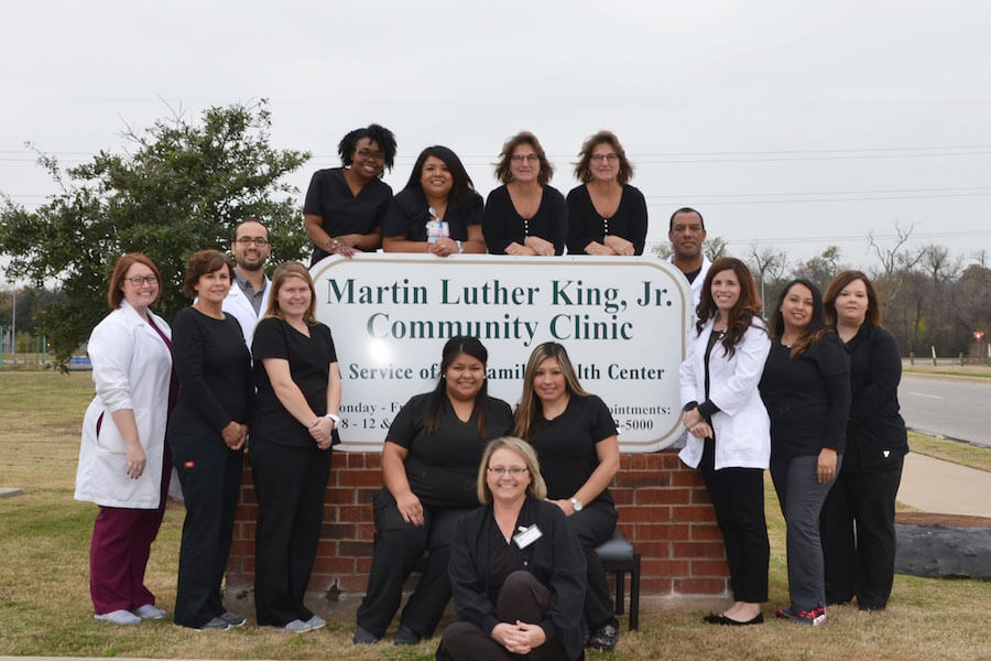 Martin Luther King Jr. Community Clinic Medical Team